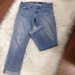 Ag Adriano Goldschmied Denim Jeans Long Legs 27R